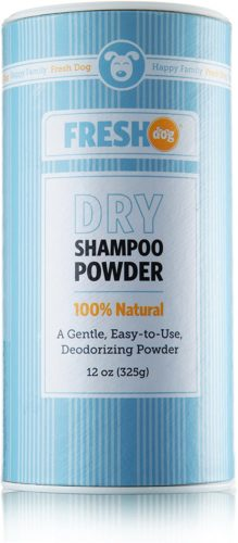 Fresh Dog Dry Shampoo Powder for Dogs and Puppies - Dry shampoo for dog