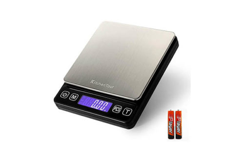 KitchenTour Digital Kitchen Scale - Kitchen Weighing Scales