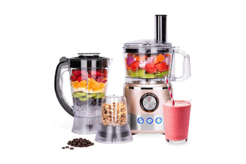 650W Multifunctional All-In-One Stainless-Steel Food Processor | Blender Food Processors