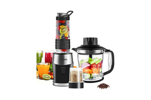 Fochea 3 In 1 Food Processor Multi-Function Kitchen Mixer System