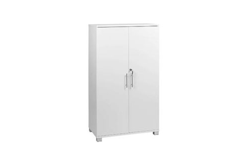 White Office Storage File Cabinet - Office Cupboards