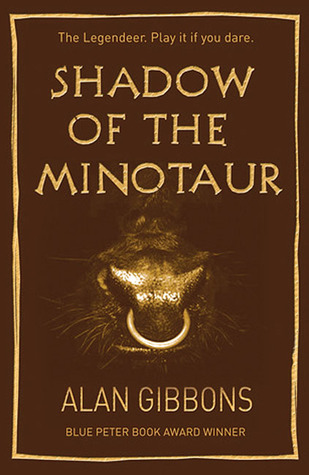 Shadow of the Minotaur by Alan Gibbons - Book for Boys