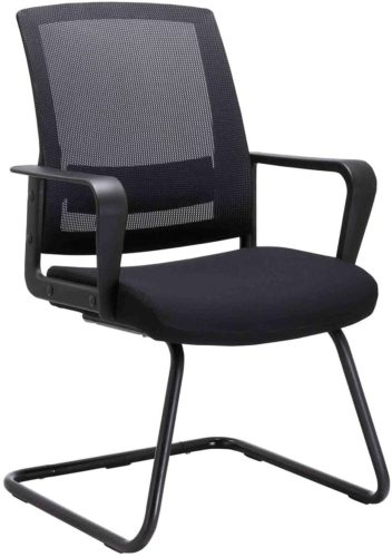 Clatina Office Chair with Lumbar Support office chairs with no wheels