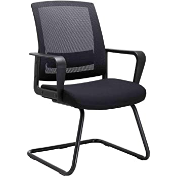 Watson Heavy-Duty Office Guest office chairs with no wheels