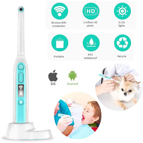 CWWHY Smart Wi-Fi HD Endoscope Dental Camera with Real-Time Video Option1