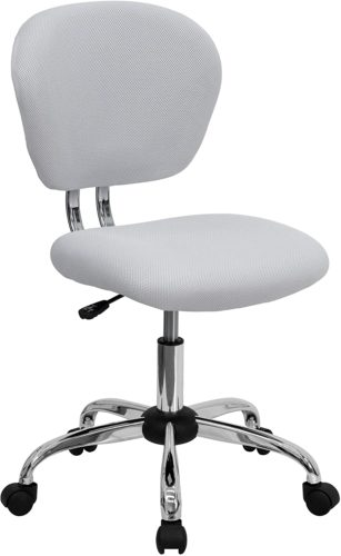Flash Furniture Swivel Office Chair - White Office Furniture
