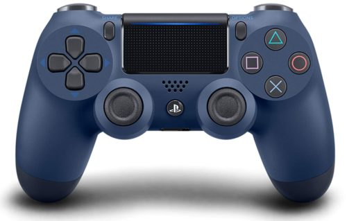DualShock 4 Wireless Controller for PlayStation 4 - Midnight Blue - PS4 Move Controllers