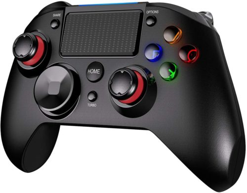PICTEK PS4 Controller, 3-in-1 Wireless Gaming Controller - PS4 Move Controllers
