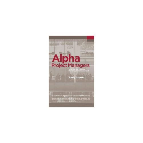 Alpha Project Managers  Project Management Books